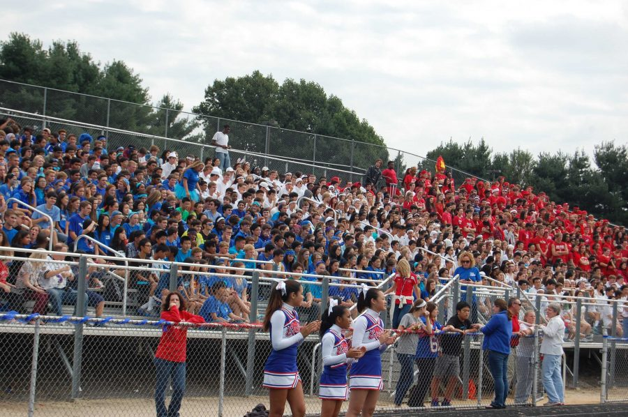Photos from Color Day and the Pep Rally
