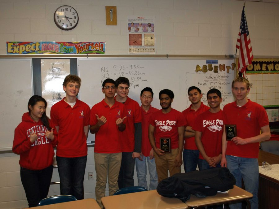 Centennial's It's Academic Team's Success Continues