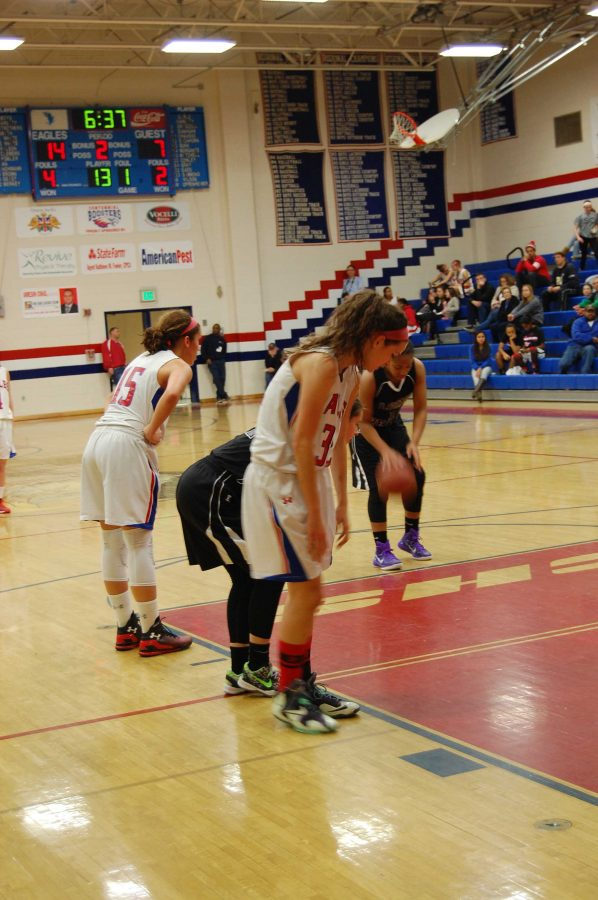 Photos from the Girls' Basketball Game Against Long Reach