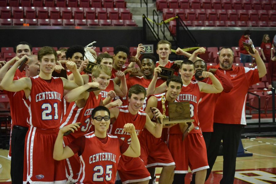The Boys' Basketball Team Brings Home the State Title