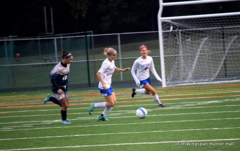 Girls' Soccer Defeats Marriotts
