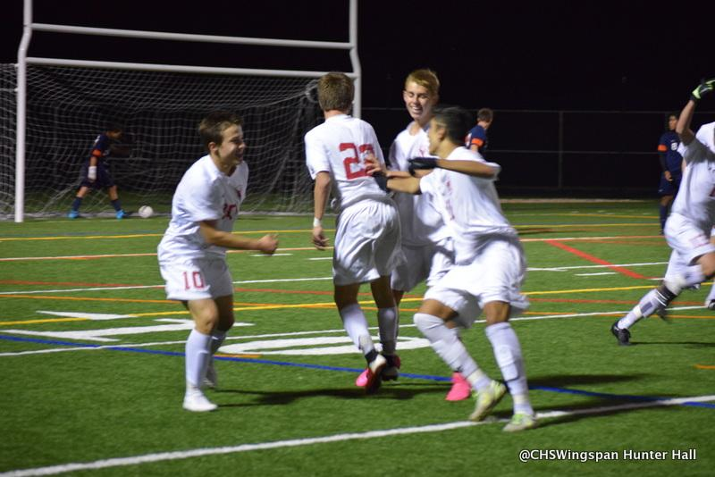 Boys' Soccer Beats Reservoir in Playoffs