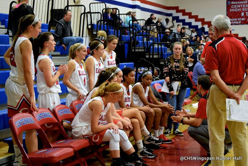 Lady Eagles Defeat Reservoir in Basketball