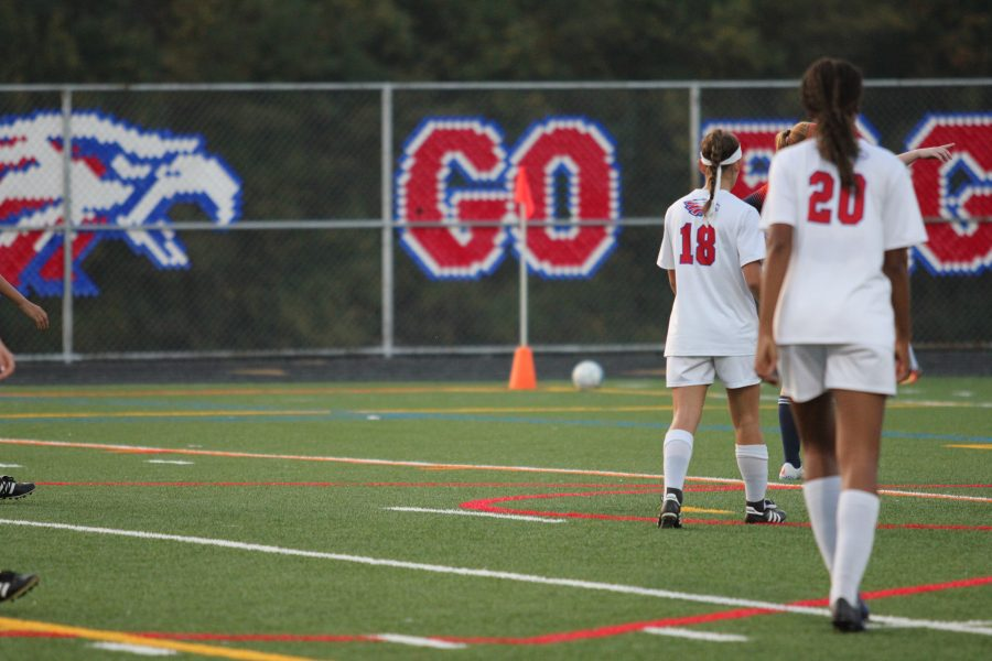 Girls' Soccer Loses to Reservoir on Senior Night