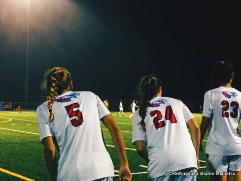 Girls' Soccer Defeats Hammond