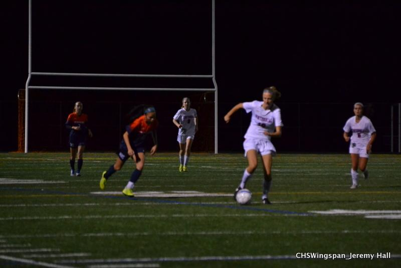 Girls' Soccer Wins Second Round of Playoffs