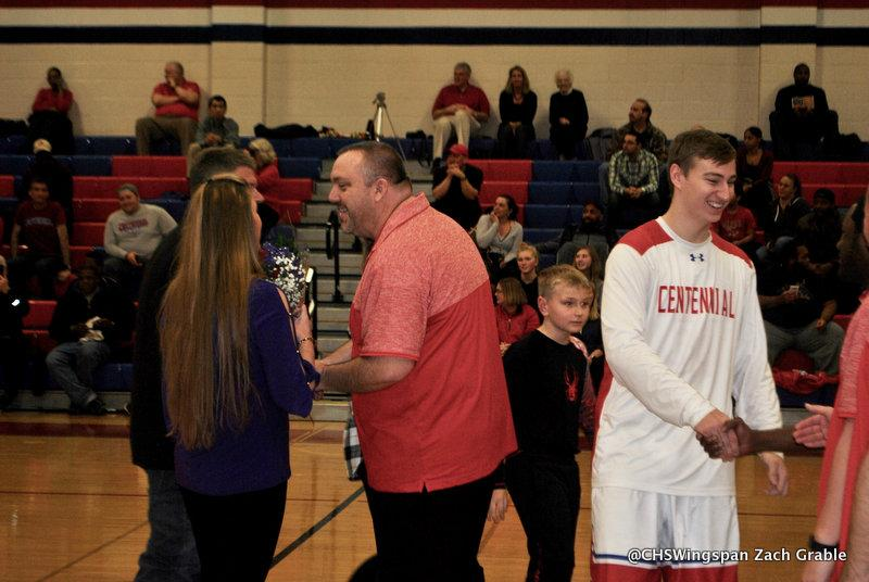 Boys' Basketball Wins Big on Senior Night