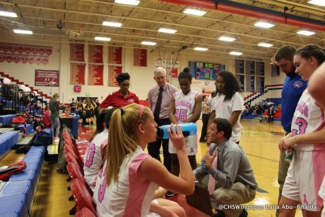 Girls' Basketball Loses to Mt. Hebron on Fundraising Night
