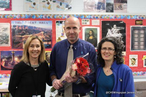 Mr. Whitaker Wins Teacher of the Year!