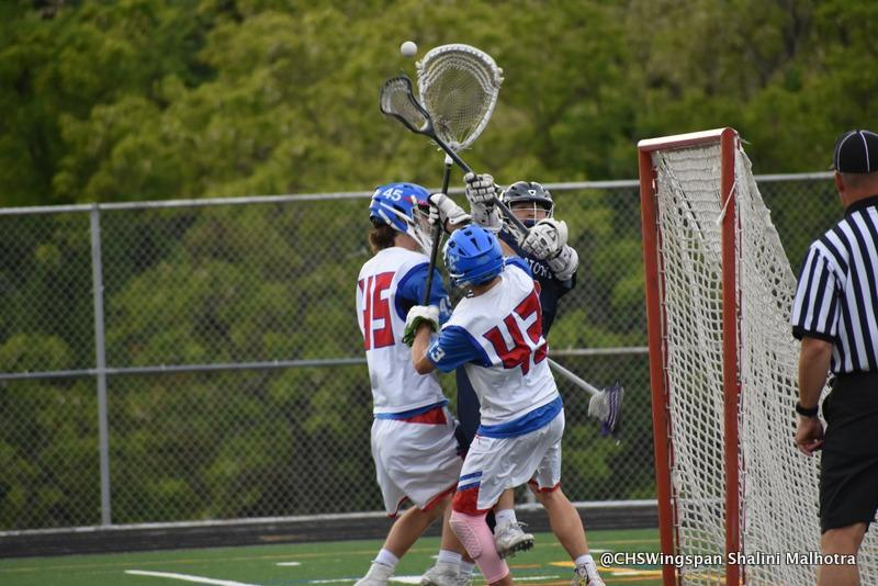 Boys' Lacrosse Defeats Reservoir in Playoffs