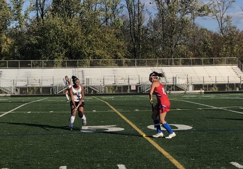 Varsity Field Hockey Beats Long Reach in First Playoff Game