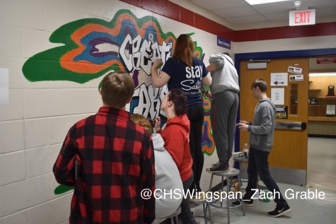 Centennial Brightens Up Hallways with Inspire Murals [VIDEO]