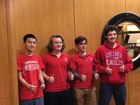 Centennial's It's Academic Team Wins 7th in the Nation