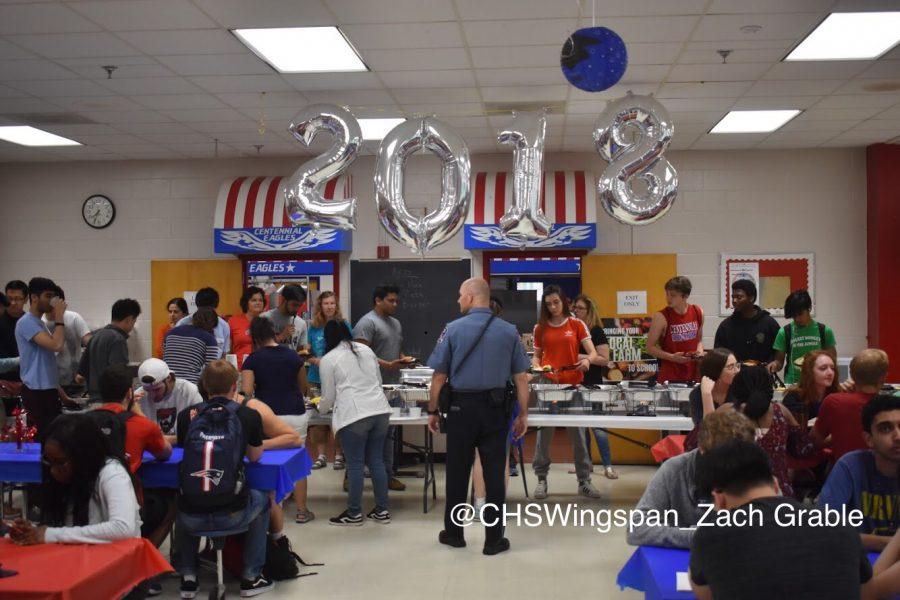 Centennial+Celebrates+Senior+Breakfast