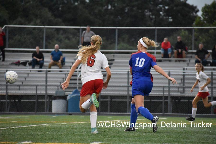Centennial+Girls+Varsity+Soccer+Ties+Glenelg