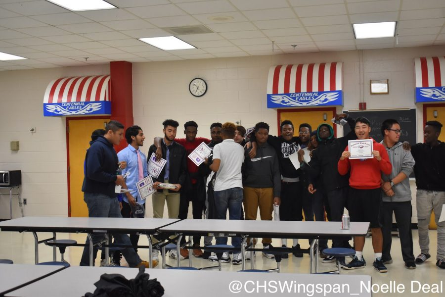 Centennial Football Has a Hopeful Banquet to Conclude Their Season