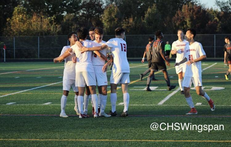 Centennial+Boys%27+Varsity+Soccer+Advances+to+Semi-Finals