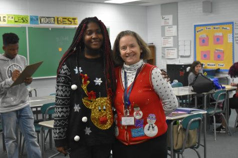 Looking Cute On Ugly Sweater Day