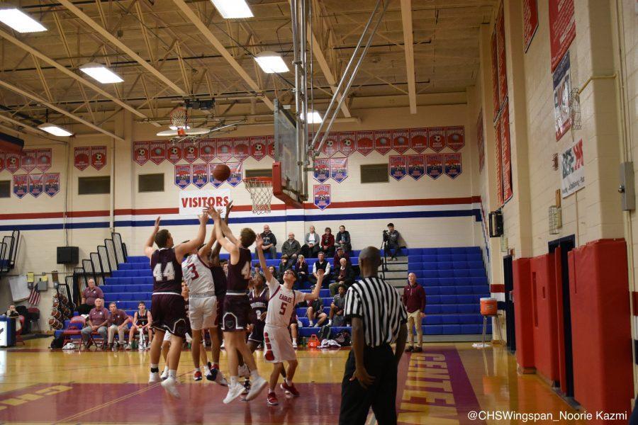 Centennial+Varsity+Boys%E2%80%99+Basketball+Falls+Short+of+Completing+Comeback+Against+Broadneck