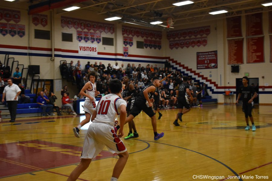 Centennial+Boys%27+Basketball+Defeated+in+Season+Opener