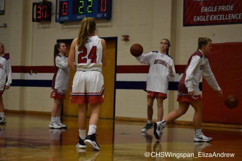 CHS Girls' Varsity Basketball Defeats Long Reach