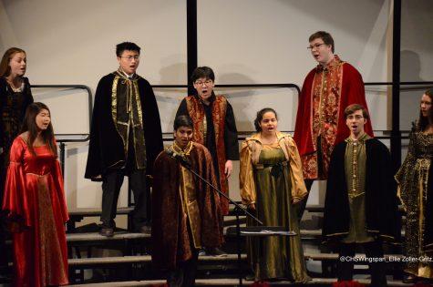 Centennial Choral Ensembles Perform in Winter Concert