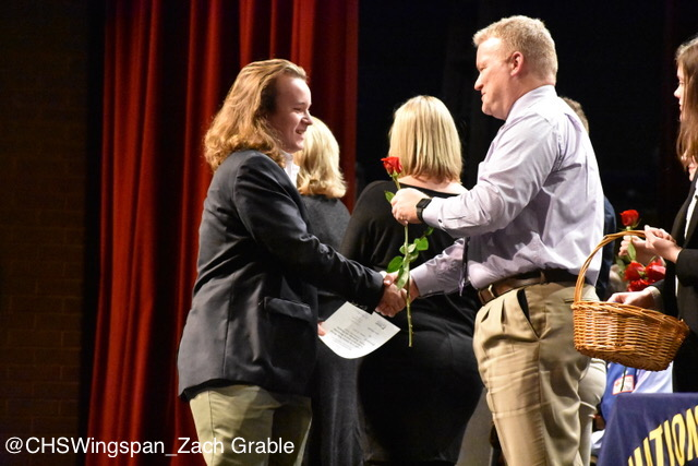 Annual National Honors Society Inductions