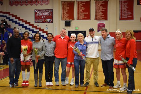 Centennial Girls' Varsity Basketball Complete Comeback over Hammond on Senior Night