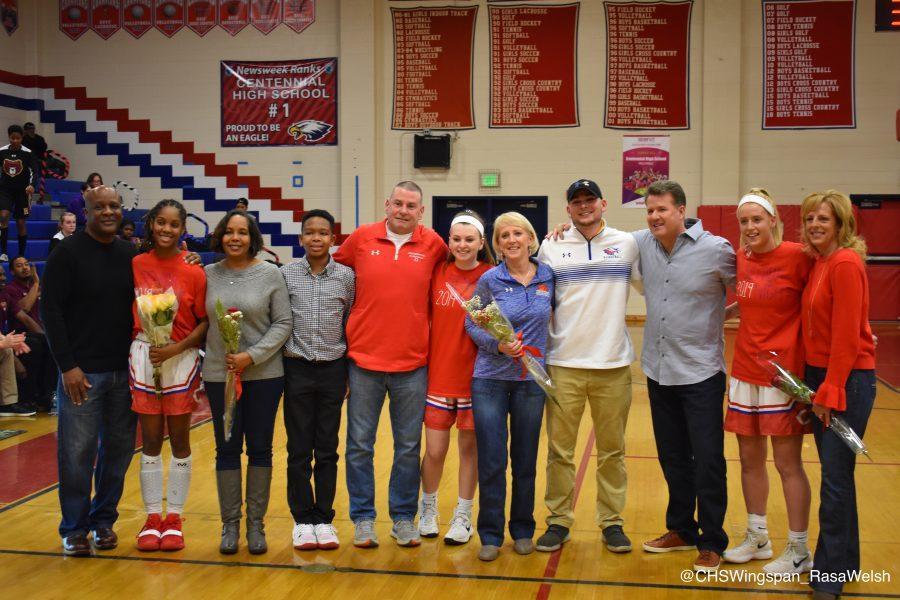 Centennial+Girls%E2%80%99+Varsity+Basketball+Complete+Comeback+over+Hammond+on+Senior+Night
