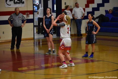 Girls' Basketball Falls to Howard