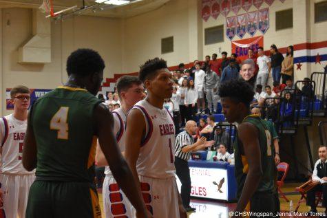 Centennial Boys' Basketball Dominates in Last Game of the Season