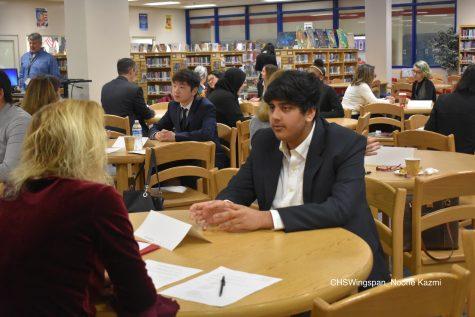 Junior Interview Photos