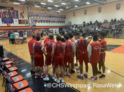 Centennial Boys' Varsity Basketball Falls to Reservoir in Playoffs