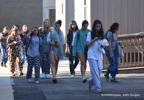Centennial Students Show Out On Pajama Day