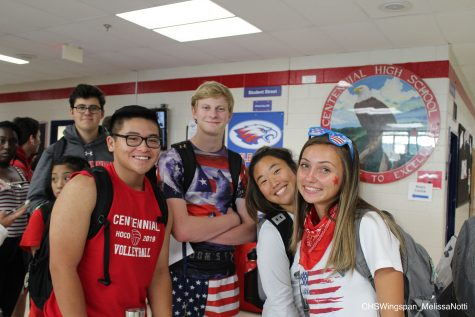 Centennial Students Show Off Their Patriotism