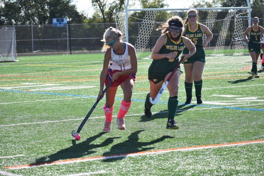 Centennial Field Hockey Defeats Wilde Lake in Pink Out Game