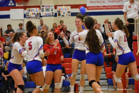 Centennial Volleyball Suffers Tough Loss on Senior Night