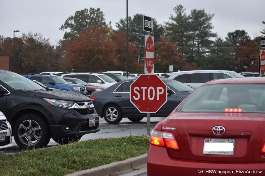 Changes to Centennial's Parking Lot