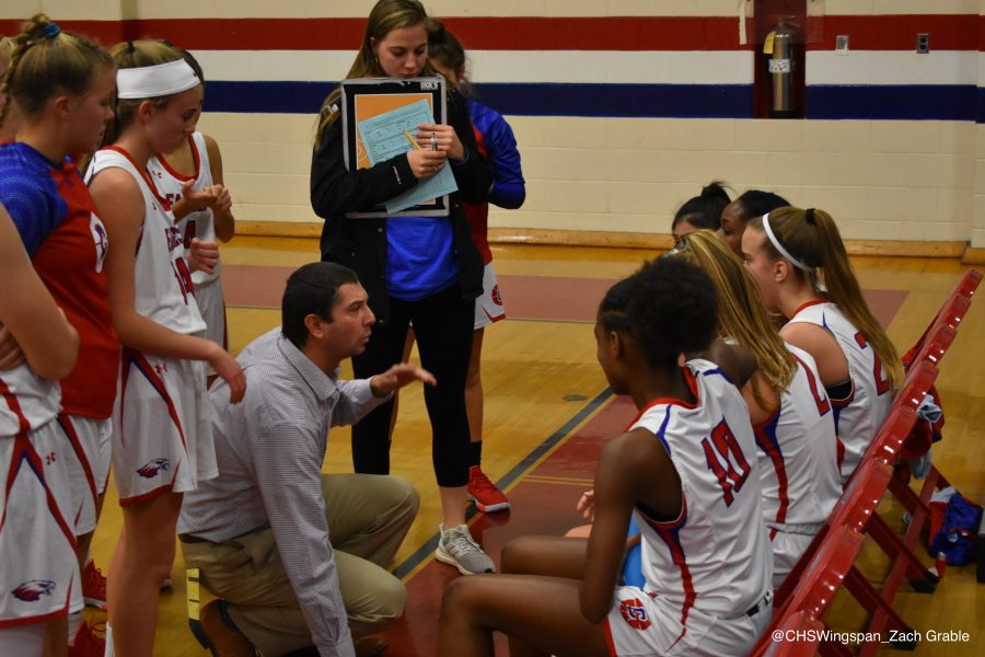 Centennial Varsity Girls' Basketball Falls to South River