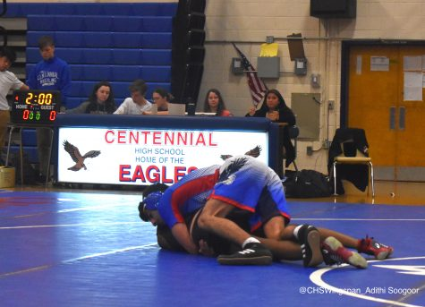 Centennial Wrestling Continues to Improve