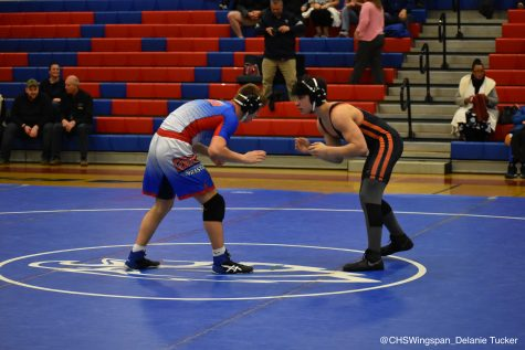 Centennial Wrestling Takes Down Out-of-County Opponent