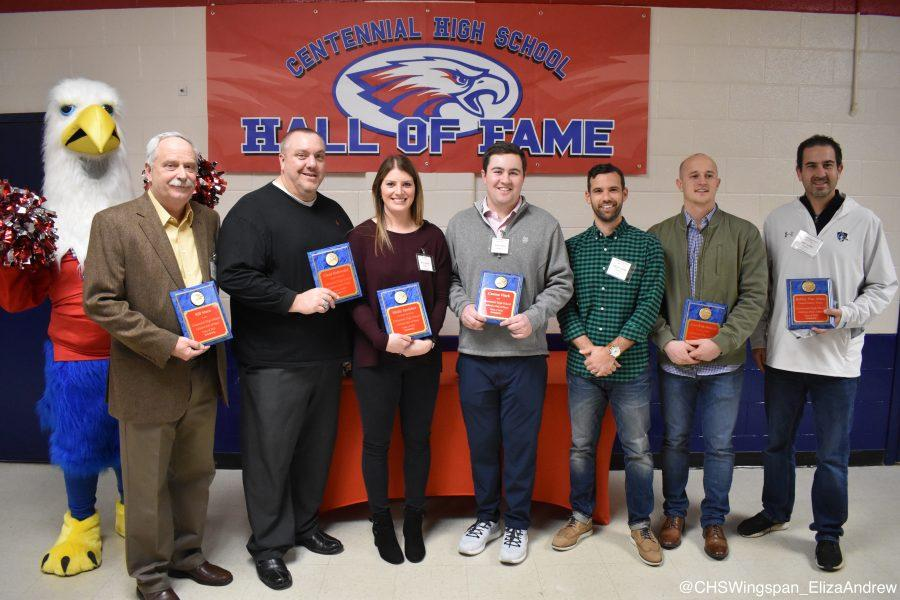 Centennial Welcomes Seven New Alumni into the CHS Athletics Hall of Fame