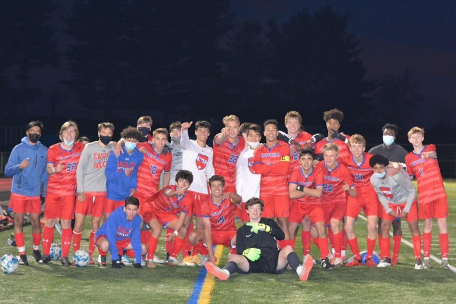 Centennial Boys' Soccer Competes in the County Championship