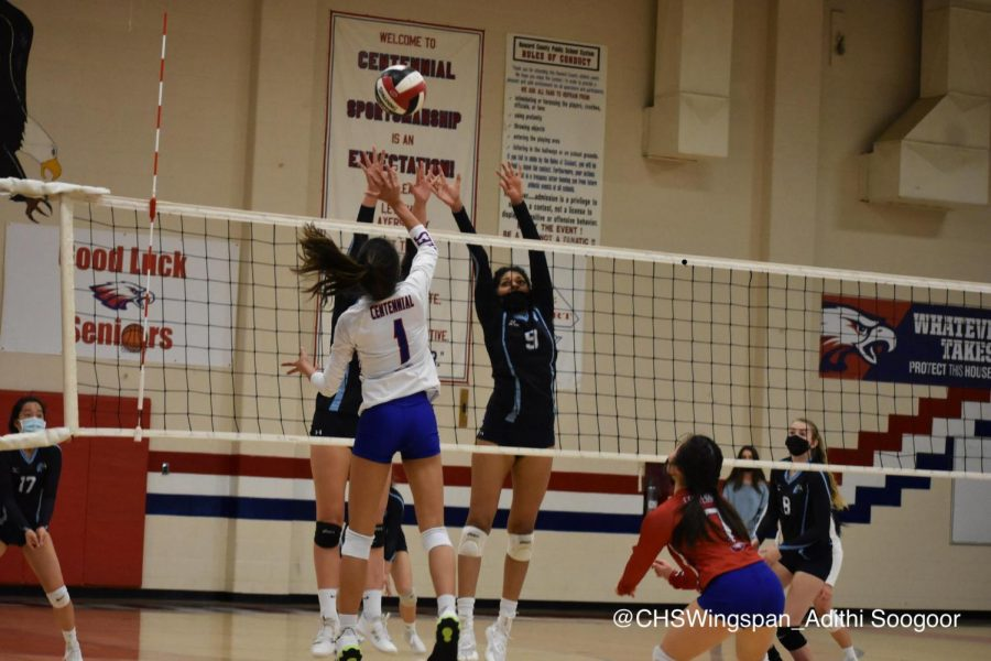 Centennial Volleyball Faces Top Seeds in Playoffs