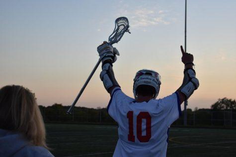 Boys' Lacrosse Wins Big on Senior Night