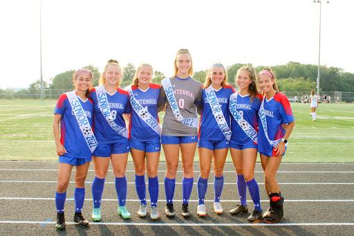 Girls' Soccer Program Celebrates Seniors on Tuesday Night